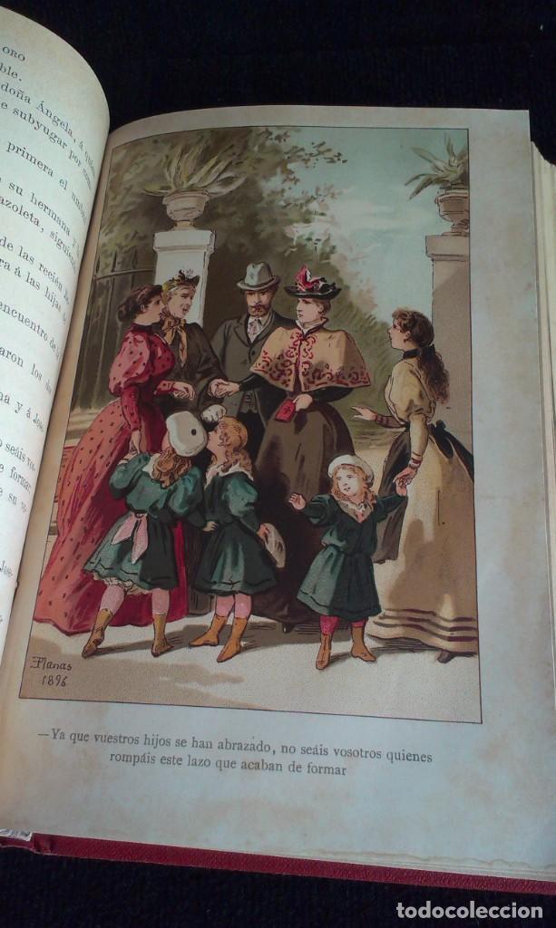 Libros antiguos: CORAZONES DE ORO – D.F. LUIS OBIOLS - S XIX - Foto 9 - 145772014