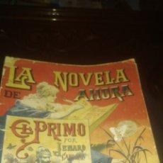 Libros antiguos: NOVELA: EL PRIMO DE J. CARDONA. ED. CALLEJA. PASTA DETERIORADA. INTERIOR BIEN. PRINCIPIOS SIGLO XX.. Lote 145865689
