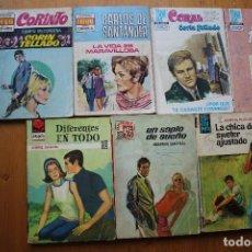 Livros antigos: 7 NOVELAS RAMANTICAS O ROSA. Lote 146516238