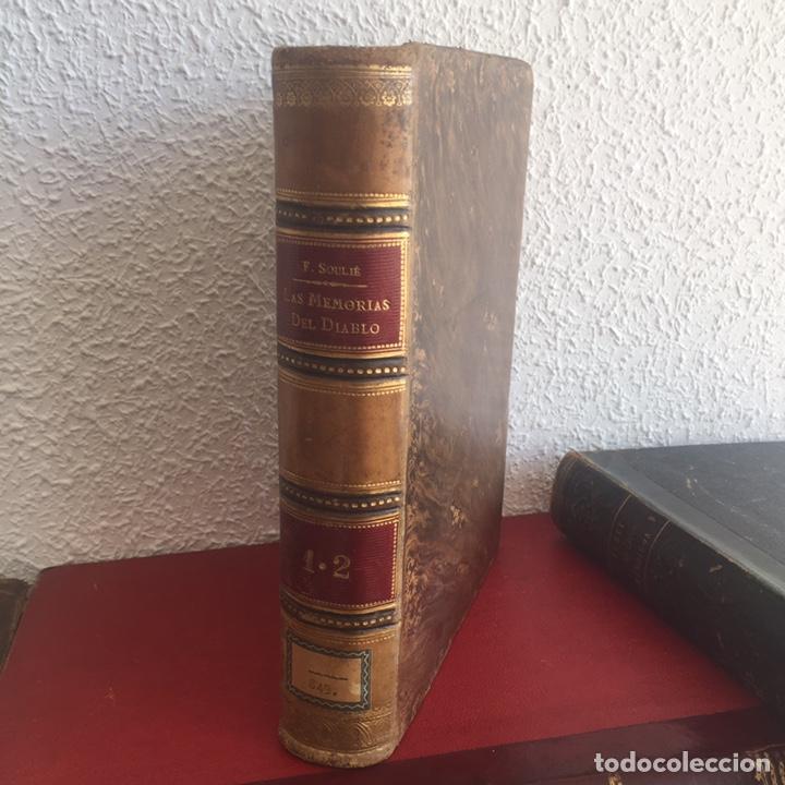 LAS MEMORIAS DEL DIABLO, FEDERICO SOULIÉ. 1849 TOMOS I Y II (Libros antiguos (hasta 1936), raros y curiosos - Literatura - Narrativa - Novela Romántica)