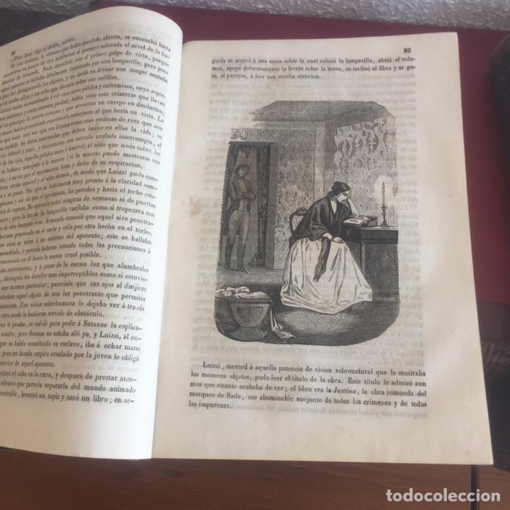 Libros antiguos: Las memorias del diablo, Federico Soulié. 1849 Tomos I y II - Foto 11 - 146732656