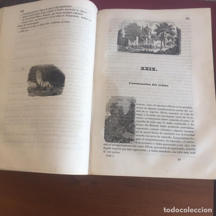 Libros antiguos: Las memorias del diablo, Federico Soulié. 1849 Tomos I y II - Foto 12 - 146732656