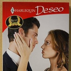 Libros antiguos: NOVELA ROMANTICA HARLEQUIN DESEO. MAS QUE AMANTES, DE LINDA LAEL MILLER. Lote 147083686