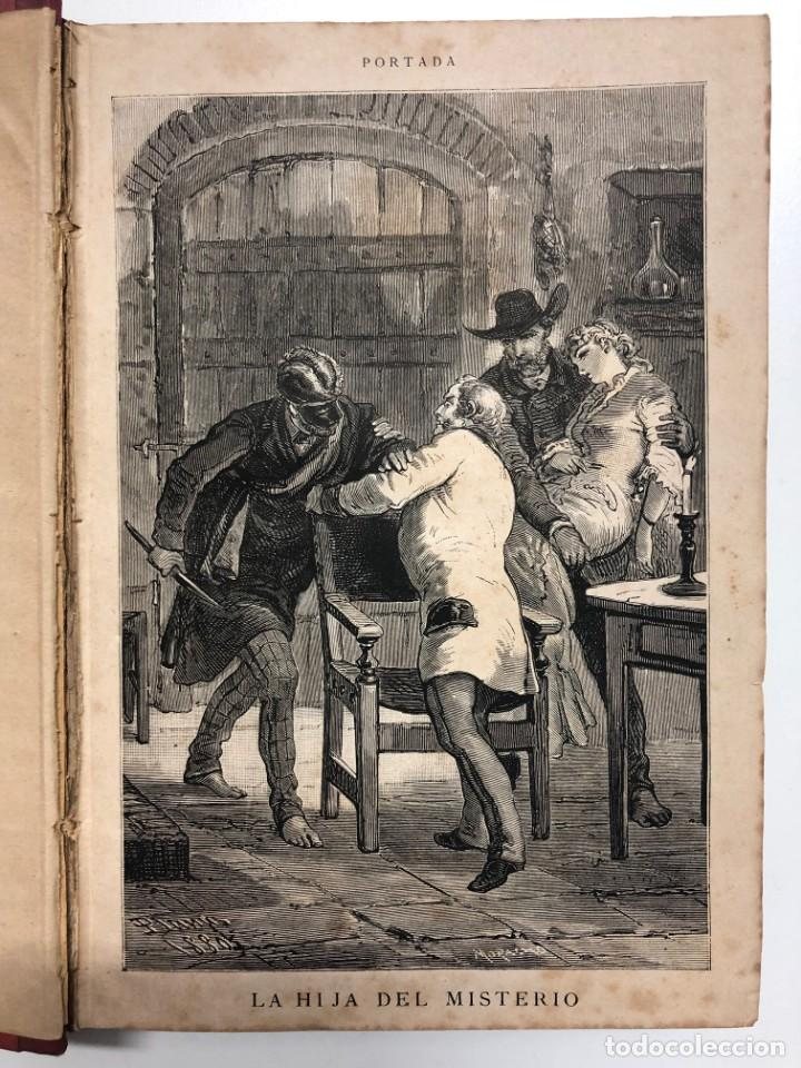 A. MENDOZA DE LASERNA. LA HIJA DEL MISTERIO. 1880 (Libros antiguos (hasta 1936), raros y curiosos - Literatura - Narrativa - Novela Romántica)