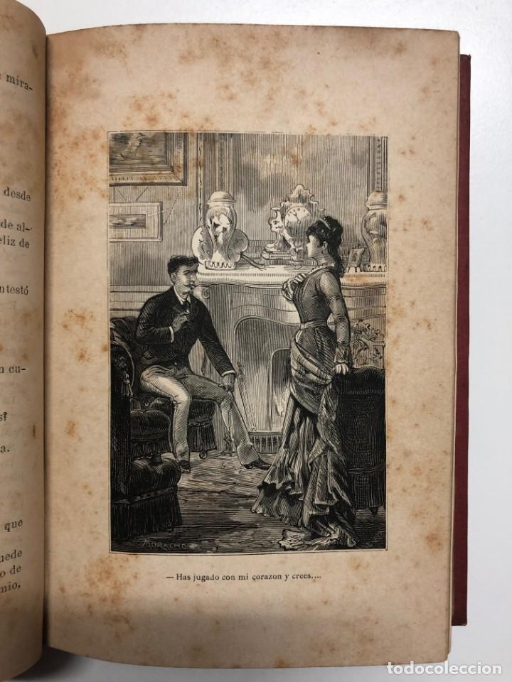Libros antiguos: A. MENDOZA DE LASERNA. LA HIJA DEL MISTERIO. 1880 - Foto 3 - 148809366