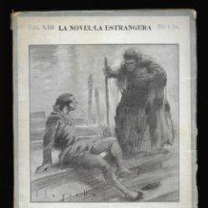 Livres anciens: DUX I LA DOGARESSA, EL . MARINO FALIERI LA NOVEL·LA ESTRANGERA VOL.XIII 1925 HOFFMANN, E.T.A.. Lote 150089162