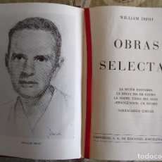 Libros antiguos: OBRAS SELECTAS - WILLIAM IRISH 978 PAGINAS, CARROGGIO, 1974 TAPA DURA. Lote 153055886