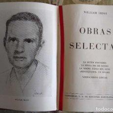Libros antiguos: OBRAS SELECTAS - WILLIAM IRISH 978 PAGINAS, CARROGGIO, 1974 TAPA DURA. Lote 153055886