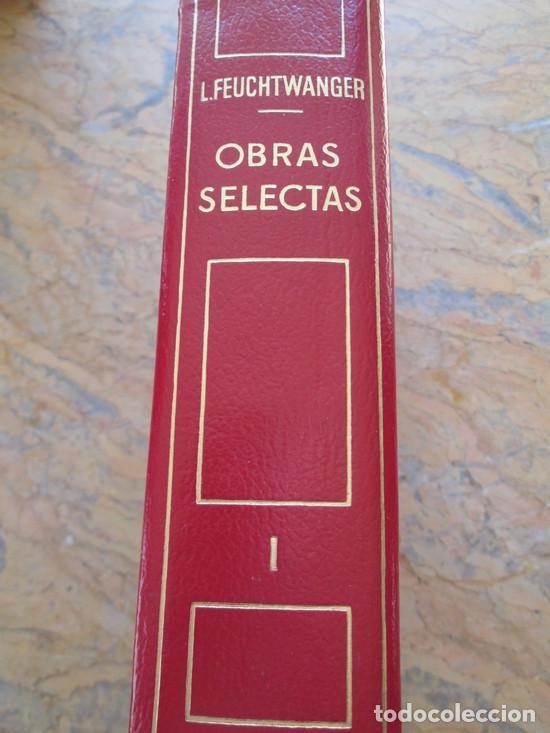 LION FEUCHTWANGER. OBRAS SELECTAS.TOMO I. NOVELAS.1911 PAG. GUAFLEX, PLANETA, 1975. (Libros antiguos (hasta 1936), raros y curiosos - Literatura - Narrativa - Novela Romántica)