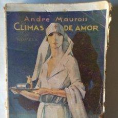 Libros antiguos: LITERATURA PROTAGONIZADA POR MUJERES (ANDRÉ MAUROIS + BARONESA DE ORCZY + CARMEN LAFORET). Lote 153753340