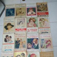 Libros antiguos: LOTE 17 EJEMPLARES. LA NOVELA ROSA. AÑOS 1920 /30. Lote 153782734