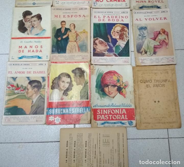 Libros antiguos: LOTE 17 EJEMPLARES. LA NOVELA ROSA. AÑOS 1920 /30 - Foto 3 - 153782734