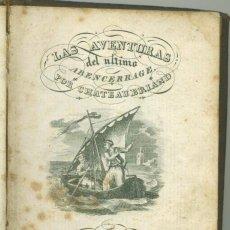 Libros antiguos: LAS AVENTURAS DEL ULTIMO ABENCERRAJE. CABRERIZO. VALENCIA. 1829.. Lote 154210382