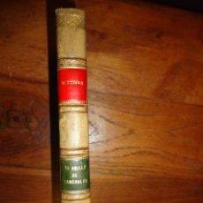 Libros antiguos: EL ANILLO DE ESMERALDA, POR MARIANO TOMÁS.. Lote 155237314
