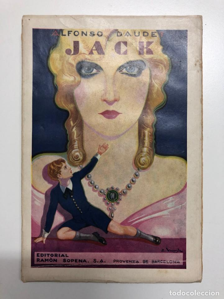 ALFONSO DAUDET. JACK. 1933 (Libros antiguos (hasta 1936), raros y curiosos - Literatura - Narrativa - Novela Romántica)
