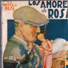 Libros antiguos: LOS AMORES DE ROSA. BERTA RUCK. EDITORIAL JUVENTUD. 1928.. Lote 156968854