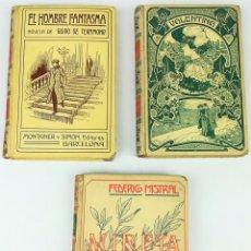 Libros antiguos: 3 NOVELAS BIBLIOTECA UNIVERSAL. VV. AA. EDITORES MONTANER Y SIMÓN. BARCELONA 1904. Lote 156996666
