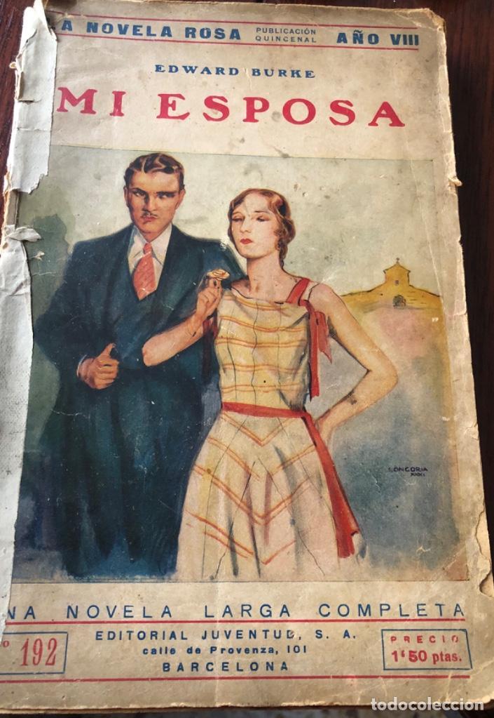 ANTIGÜA Y CURIOSA NOVELA SOBRE LAS ESPOSAS , AÑO 1.931 (Libros antiguos (hasta 1936), raros y curiosos - Literatura - Narrativa - Novela Romántica)