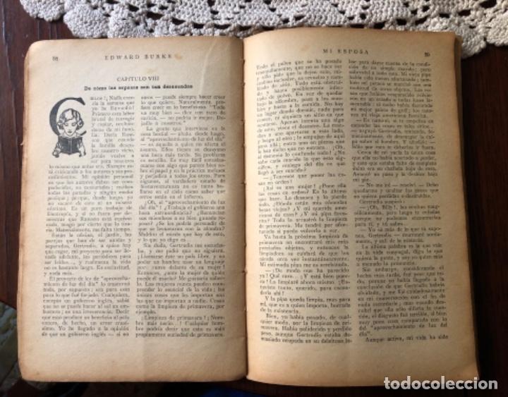Libros antiguos: ANTIGÜA Y CURIOSA NOVELA SOBRE LAS ESPOSAS , AÑO 1.931 - Foto 7 - 157677090