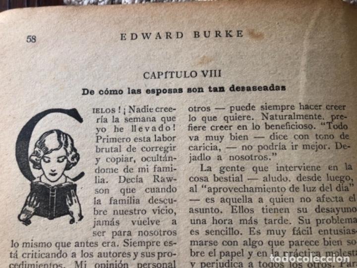Libros antiguos: ANTIGÜA Y CURIOSA NOVELA SOBRE LAS ESPOSAS , AÑO 1.931 - Foto 8 - 157677090