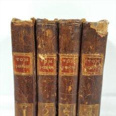 Libros antiguos: TOM JONES OU L'ENFANT TROUVÉ. 4 TOMOS. M. DE LA PLACE. IM.-LIB. ANDRÉ. PARÍS. 1797.. Lote 159241082