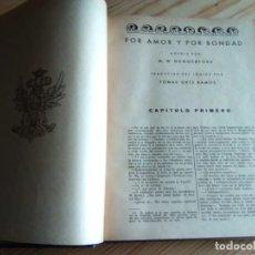Libros antiguos: 1936. SEIS NOVELAS ENCUADERNADAS. ED. BLANCO Y NEGRO.. Lote 160664642