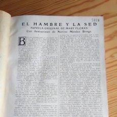 Libros antiguos: 1936. 4 NOVELAS ENCUADERNADAS. ED. BLANCO Y NEGRO. Lote 160670418
