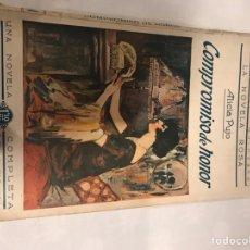 Libros antiguos: COMPROMISO DE AMOR, ALICIA PUJO. Lote 161950392