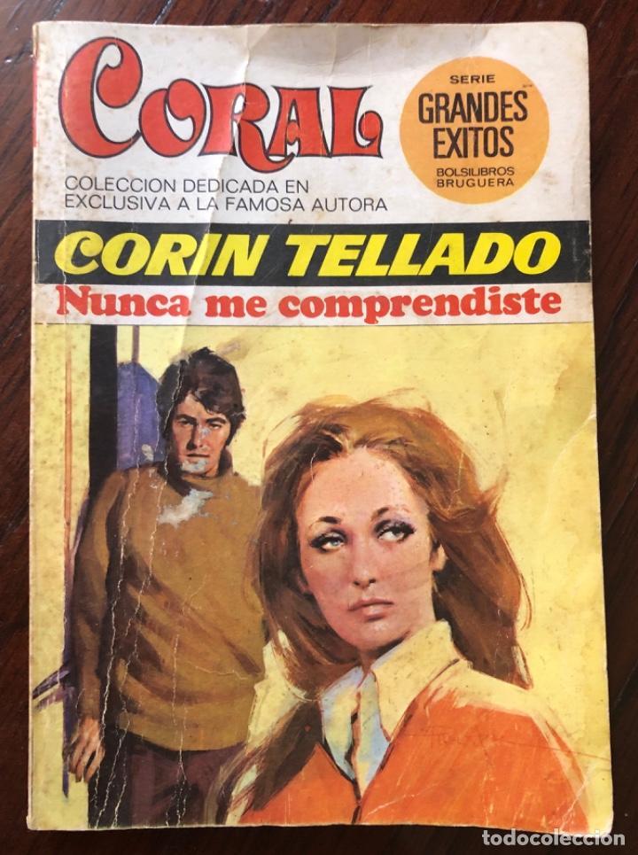 NOVELA ROMÁNTICA DE BOLSILLO , CORAL CORIN TELLADO (Libros antiguos (hasta 1936), raros y curiosos - Literatura - Narrativa - Novela Romántica)
