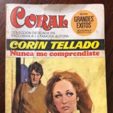 Libros antiguos: NOVELA ROMÁNTICA DE BOLSILLO , CORAL CORIN TELLADO. Lote 162863982