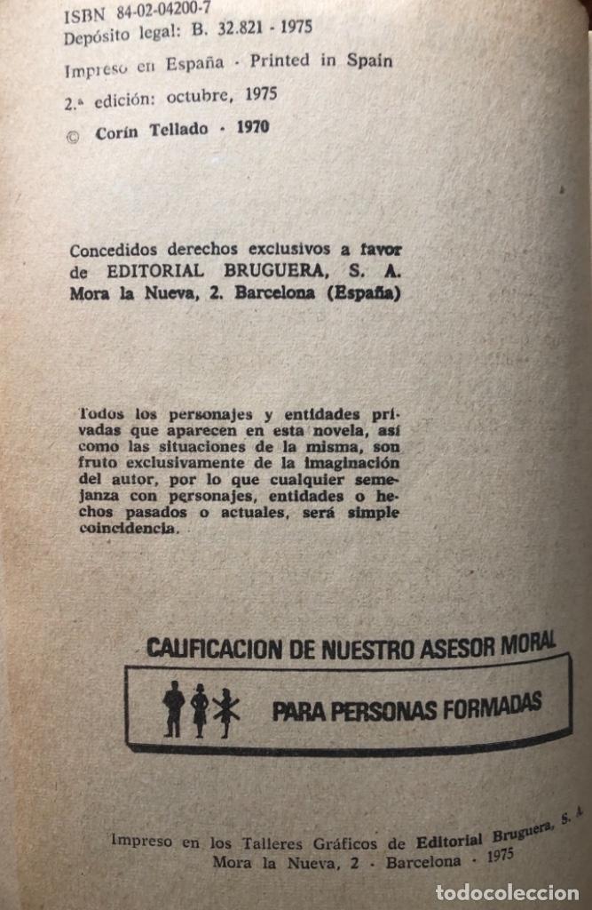 Libros antiguos: NOVELA ROMÁNTICA DE BOLSILLO , CORAL CORIN TELLADO - Foto 4 - 162863982