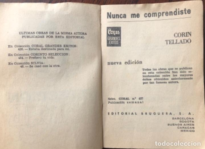 Libros antiguos: NOVELA ROMÁNTICA DE BOLSILLO , CORAL CORIN TELLADO - Foto 5 - 162863982