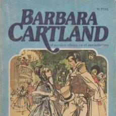 Livres anciens: BARBARA CARTLAND. LA HEREDERA REBELDE. Lote 163943226