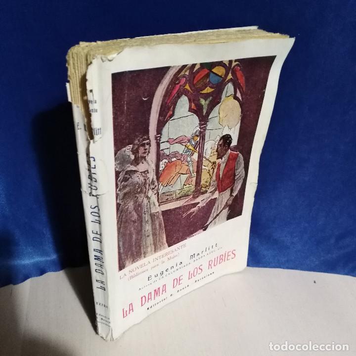 Libros antiguos: La Dama de los Rubíes, 1927 - Eugenia Marlitt - Ed. Banzá - La Novela Interesante - Muy raro - Foto 2 - 165783418