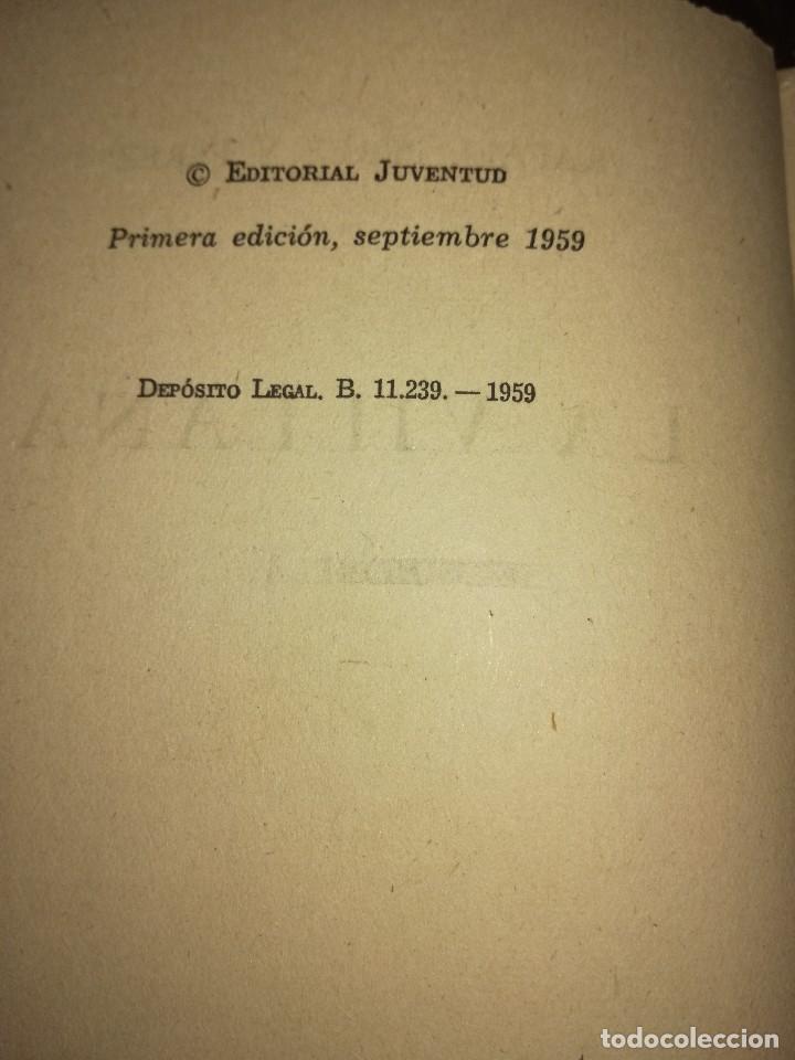 Libros antiguos: La villana,por Rafael Pérez y Pérez - Foto 3 - 166532738