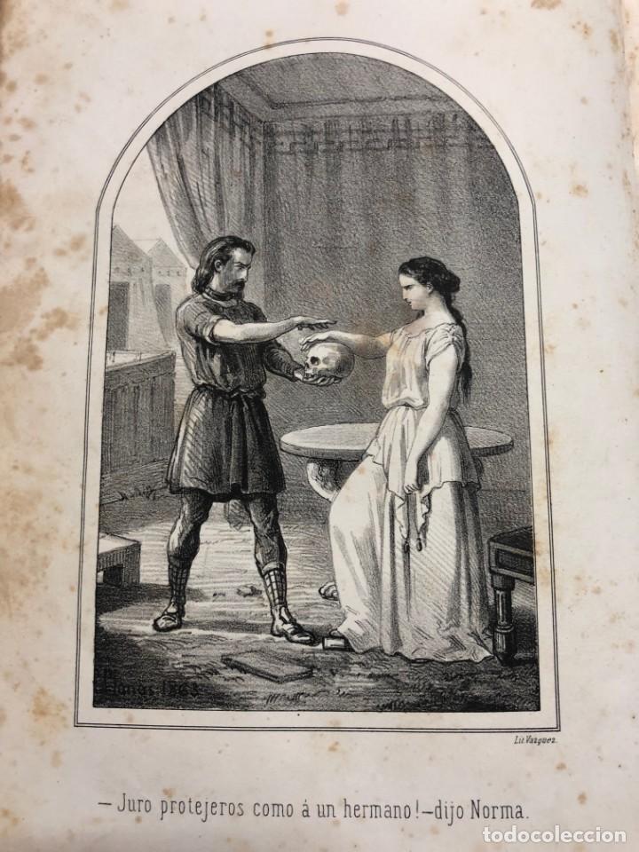 FRANCISCO PELAYO BRIZ. NORMA Ó LA SACERDOTISA DE LA ISLA DE SEN. 1863 (Libros antiguos (hasta 1936), raros y curiosos - Literatura - Narrativa - Novela Romántica)