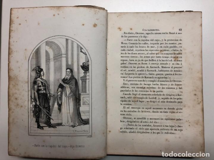 Libros antiguos: FRANCISCO PELAYO BRIZ. NORMA Ó LA SACERDOTISA DE LA ISLA DE SEN. 1863 - Foto 2 - 168710836