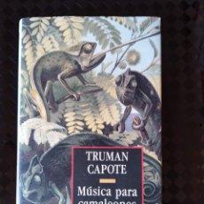 Livros antigos: NOVELA - MÚSICA PARA CAMALEONES. Lote 169545188