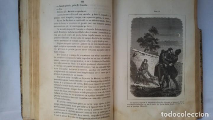 Libros antiguos: La enferma del corazón, de D. Gregorio Romero Larrañaga. Madrid.1859. Tomo II - - Foto 3 - 169694200