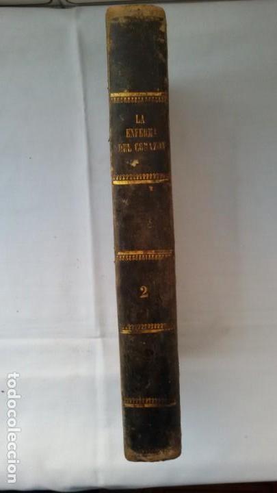 LA ENFERMA DEL CORAZÓN, DE D. GREGORIO ROMERO LARRAÑAGA. MADRID.1859. TOMO II - (Libros antiguos (hasta 1936), raros y curiosos - Literatura - Narrativa - Novela Romántica)