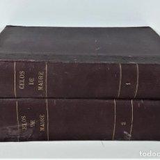 Libros antiguos: CELOS DE MADRE. TOMOS I Y II. LUÍS DE VAL. EDIT. JOSÉ TRISTANY. BARCELONA. . Lote 169965704