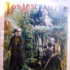 Libros antiguos: L-5394. LOS MISERABLES. V. HUGO ILUSTRADO POR LABARTA. R. SALVATELLA, EDITOR. 1866. 3 PARTES 1 TOMO. Lote 171614734