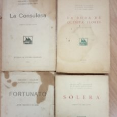 Libros antiguos: 4 TOMOS DE SERAFIN Y JOAQUIN ALVAREZ QUINTERO -. Lote 172316575