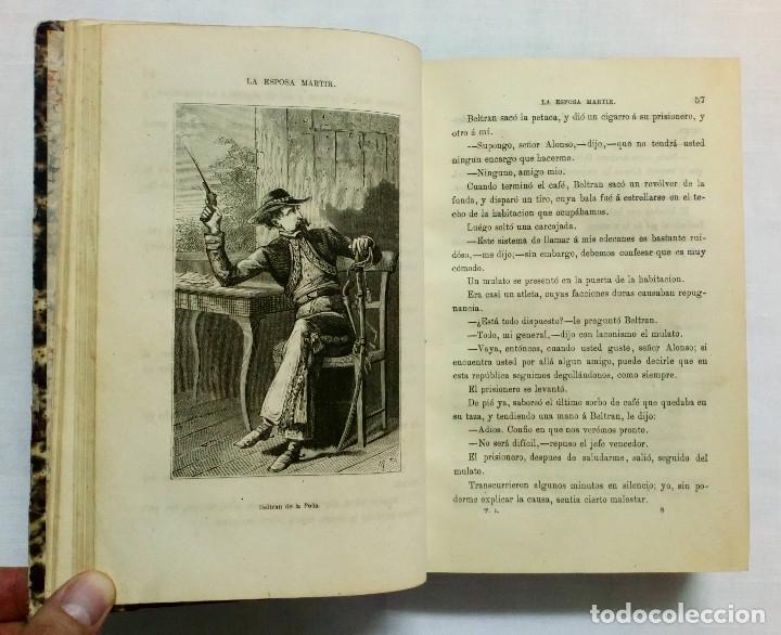 Libros antiguos: LA ESPOSA MÁRTIR. ENRIQUE PÉREZ ESCRICH. OBRA COMPLETA EN 2 TOMOS. AÑO 1873. - Foto 9 - 172366850