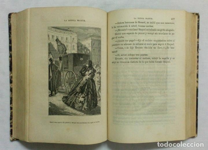 Libros antiguos: LA ESPOSA MÁRTIR. ENRIQUE PÉREZ ESCRICH. OBRA COMPLETA EN 2 TOMOS. AÑO 1873. - Foto 10 - 172366850