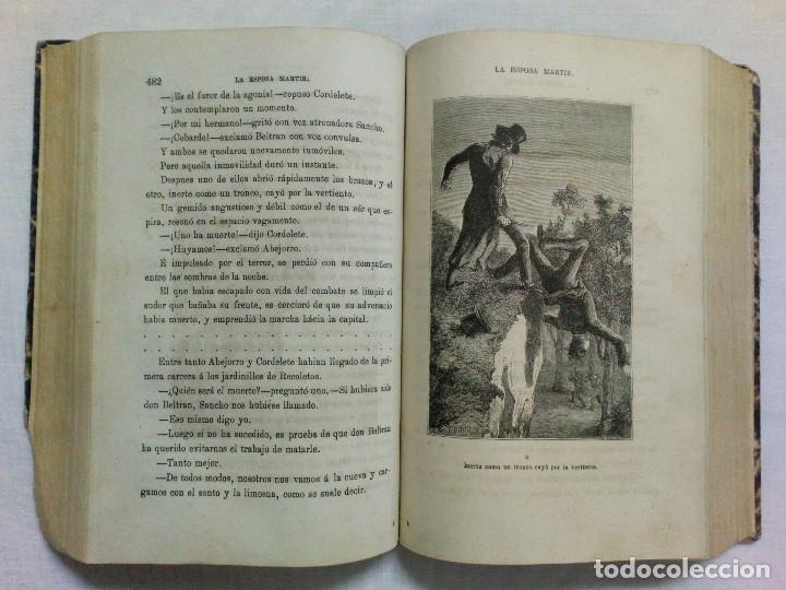 Libros antiguos: LA ESPOSA MÁRTIR. ENRIQUE PÉREZ ESCRICH. OBRA COMPLETA EN 2 TOMOS. AÑO 1873. - Foto 11 - 172366850