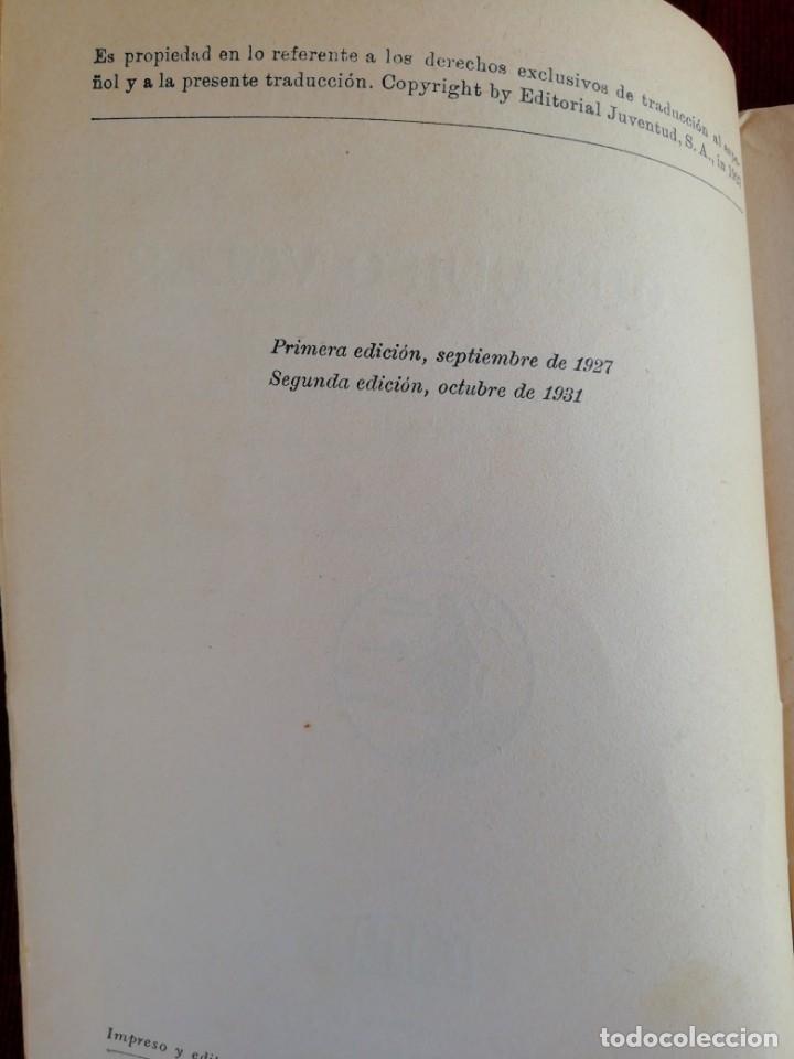 Libros antiguos: La que quiso volar. Jeanne de Coulomb. La novela rosa. Editorial Juventud. Año 1931 - Foto 4 - 172502453