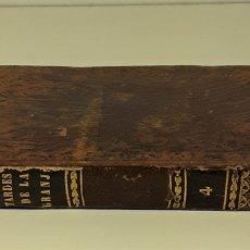 Libros antiguos: LAS TARDES DE LA GRANJA. TOMO IV. V. RODRIGUEZ. IMP. A. BOIX. MADRID. 1849.. Lote 172636480