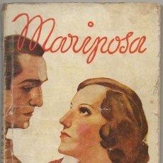 Livros antigos: MARIPOSA. EDICION ESPECIAL DE LA NOVELA ROSA Nº 295 - PEREZ Y PEREZ, RAFAEL - A-NOVRAPE-470. Lote 174261369