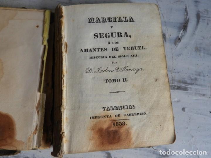 Libros antiguos: LIBRO LOS AMANTES DE TERUEL AÑO 1838 TOMO II IMPR. CABRERIZO - Foto 2 - 175357788